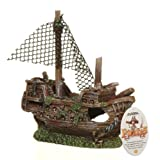 Marina Ornament Sunken Galleon, Small