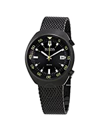 Bulova Men's 98B247 Black Dial Quartz Watch