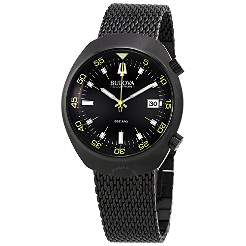 Bulova Men's 98B247 Accutron II Analog Japanese Quartz Black Watch - Accutron Mens Watch