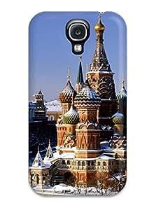 For Galaxy S4 Fashion Design Red Square Russia Case-gLnqxzw7762NnMLH