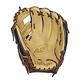 Wilson 2016 A2K 1788 SuperSkin Baseball Glove, Walnut/Black/Blonde