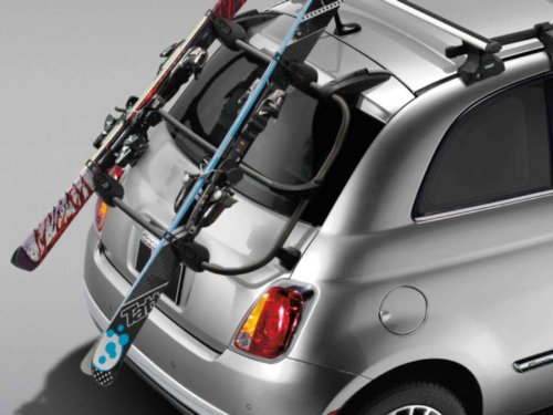 Fiat 500 Window Mount Ski Carrier by Mopar