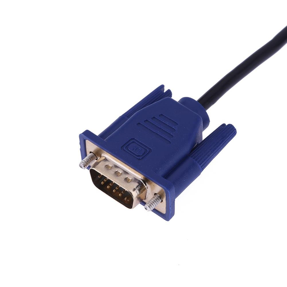 1,5 m//5ft HDMI Stecker auf DVI-D 24 1 Stecker Gold Adapter Konverter Kabel  CL