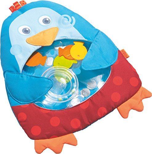 HABA Little Penguin Water Play Mat - Tummy Time Activity for Ages 6 Month and Up