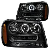 Anzo 111019 Chevrolet Trailblazer Projector Look with Hal...