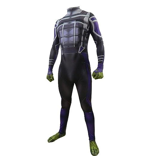 Traje de juego de rol Vengadores 4 traje nuevo Hulk adulto ...