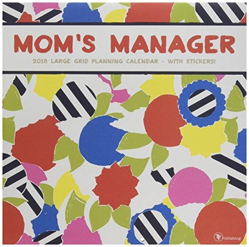 2018 Moms Manager Wall Calendar
