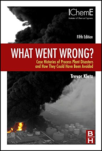 Pdf Engineering What Went Wrong?: Case Histories of Process Plant Disasters and How They Could Have Been Avoided (Butterworth-Heinemann/IChemE)