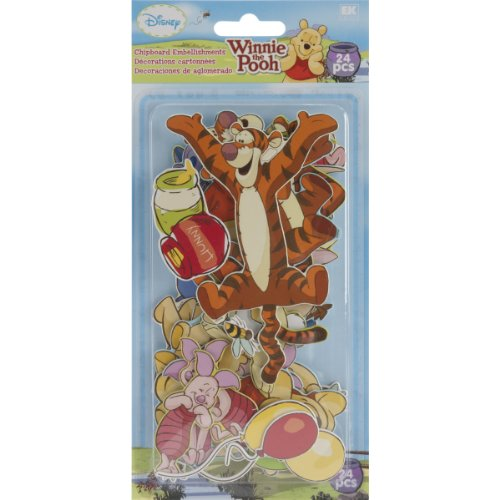 - Disney 51-00083 Chipboad Pieces, Winnie The Pooh
