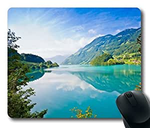 Beautiful Flowers Mountain Sky Water Mouse Pads Customized Online