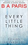 Every Little Thing (kindle edition)