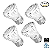 Light Blue™ (4-PACK) PAR16 LED Bulb, 7.5-Watt (50W), 4000K Cool White, 38° Narrow Flood Light Bulb, Medium Base (E26), Dimmable UL-Listed