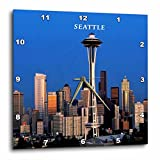 Cheap 3dRose dpp_62081_1 Seattle Space Needle Wall Clock, 10 by 10-Inch