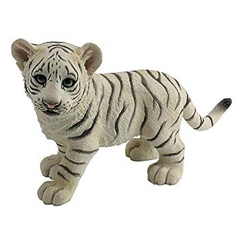 Amazon.com: Xoticbrands tigre blanco Cub diseño de Estatua ...