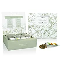 Tea Forté Single STEEPS Loose Leaf Tea Chest Assortments (Green Tea)
