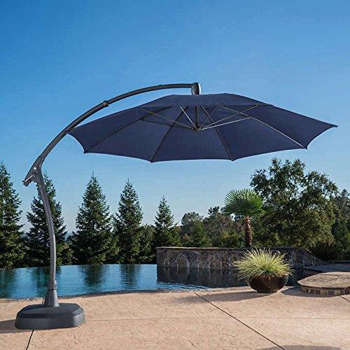 Cheap ProShade 11′ Cantilever Umbrella with Sunbrella Fabric BLUE