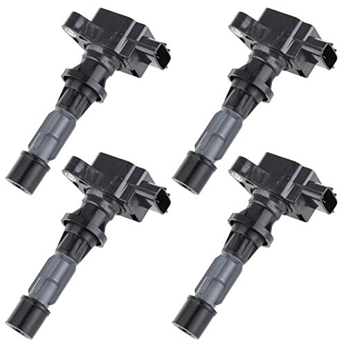 cciyu Pack of 4 Ignition Coils for Mazda 6/3/CX-7/Miata/Speed6 2006-2013 Fits for UF540 C1683