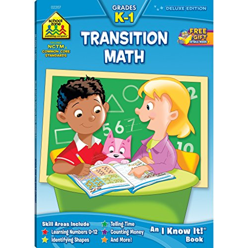 Transition Math K-1 - K1 Book