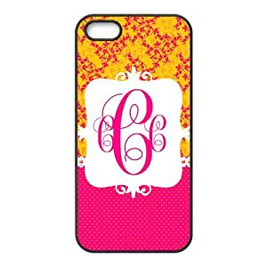 Retro Floral Vintage Flower Unique Protective Durable Hard Back Cover Case for iPhone 5 5s (TPU)