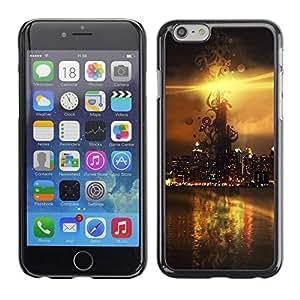 TopCaseStore / la caja del caucho duro de la cubierta de protección de la piel - Sunset Beautiful Nature 114 - Apple iPhone 6