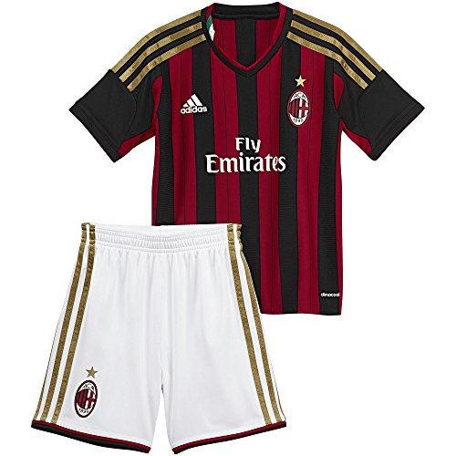 adidas AC Milan Toddler Home Kit 2013-2014 (2XS)