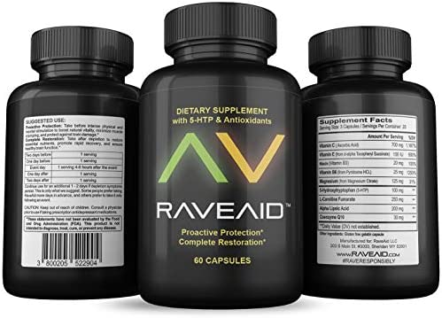 RaveAid Neurotoxicity Protection Supplement Scientific