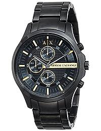 Armani Exchange Men's AX2164 Analog Display Analog Quartz Black Watch