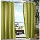 Commonwealth Outdoor Decor Gazebo Stripe Grommet Outdoor Curtain Panel For Sale