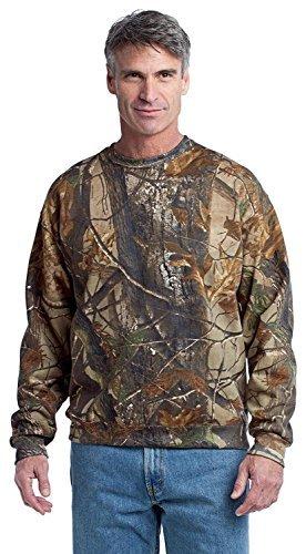 Russell Outdoors Men's Realtree Crewneck Sweatshirt, XL, Realtree