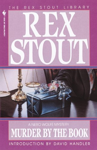 Murder by the Book (A Nero Wolfe Mystery 19) ()