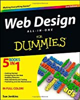 Web Design All-in-One For Dummies, 2nd Edition Front Cover