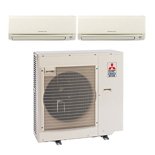 MXZ3B24NA Dual-Zone Wall Mount Mini Split Air Conditioner by Mitsubishi