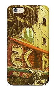 Flexible Tpu Back Case Cover For Iphone 6 - Tokyo In Ruins