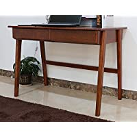 SW Writing Desk Living/Home Office Table with Drawer OAK Wood