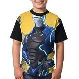 Dark Vanguard Child Boy Girl Short Sleeve Round Neck Funny Tees T-Shirt M