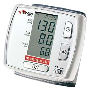Maniquick MQ 103 Check Quick - Tensiómetro de muñeca (automático)