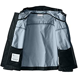 Columbia Little Boys' Glennaker Rain Jacket, Black, X-Small