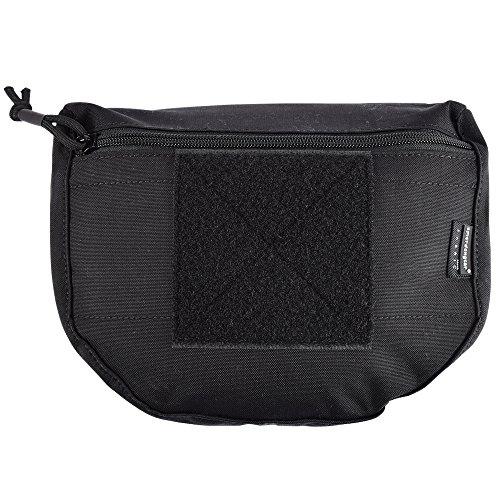 EMERSONGEAR Tactical Dump Drop Pouch Bag Multicamo Tool Pouch Black ()