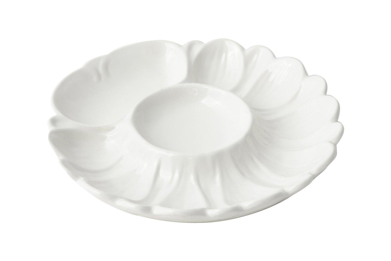 Bon Chef 5080BLK Aluminum Seafood/Artichoke Plate, 8-3/4