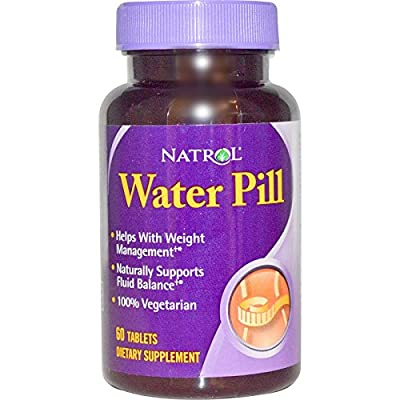 Natrol, Water Pill, 60 Tablets - 2pc
