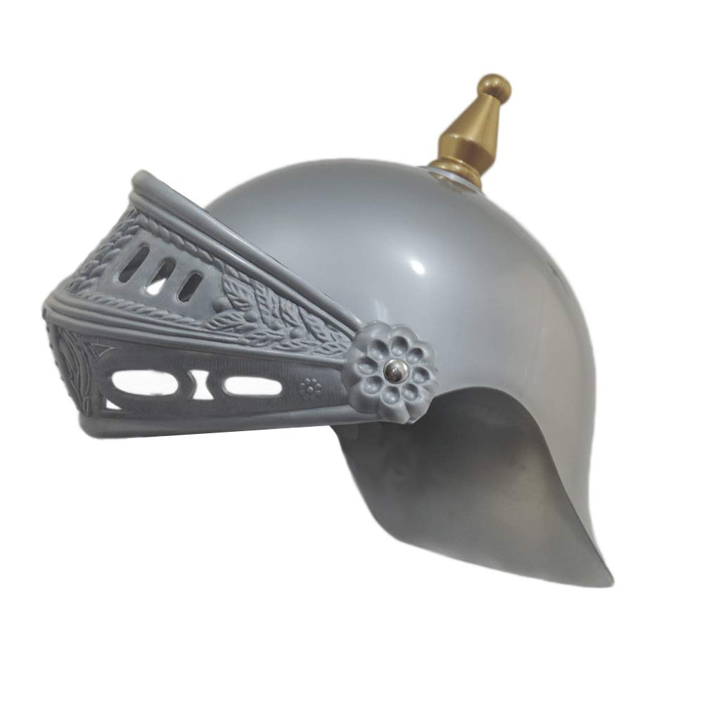 MEDIEVAL CRUSADER KNIGHT HELMET COSTUME ACCESSORY