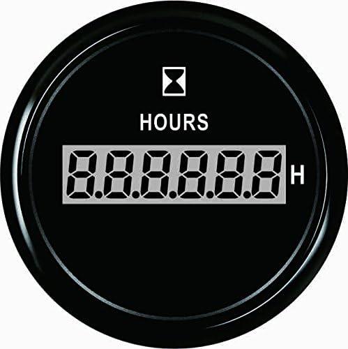"""ELING Digital Hour Meter Gauge 52mm(2"""") with Backlight"""