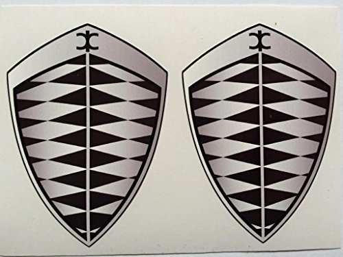 2-koenigsegg-gray-grey-badge-die-cut-decals