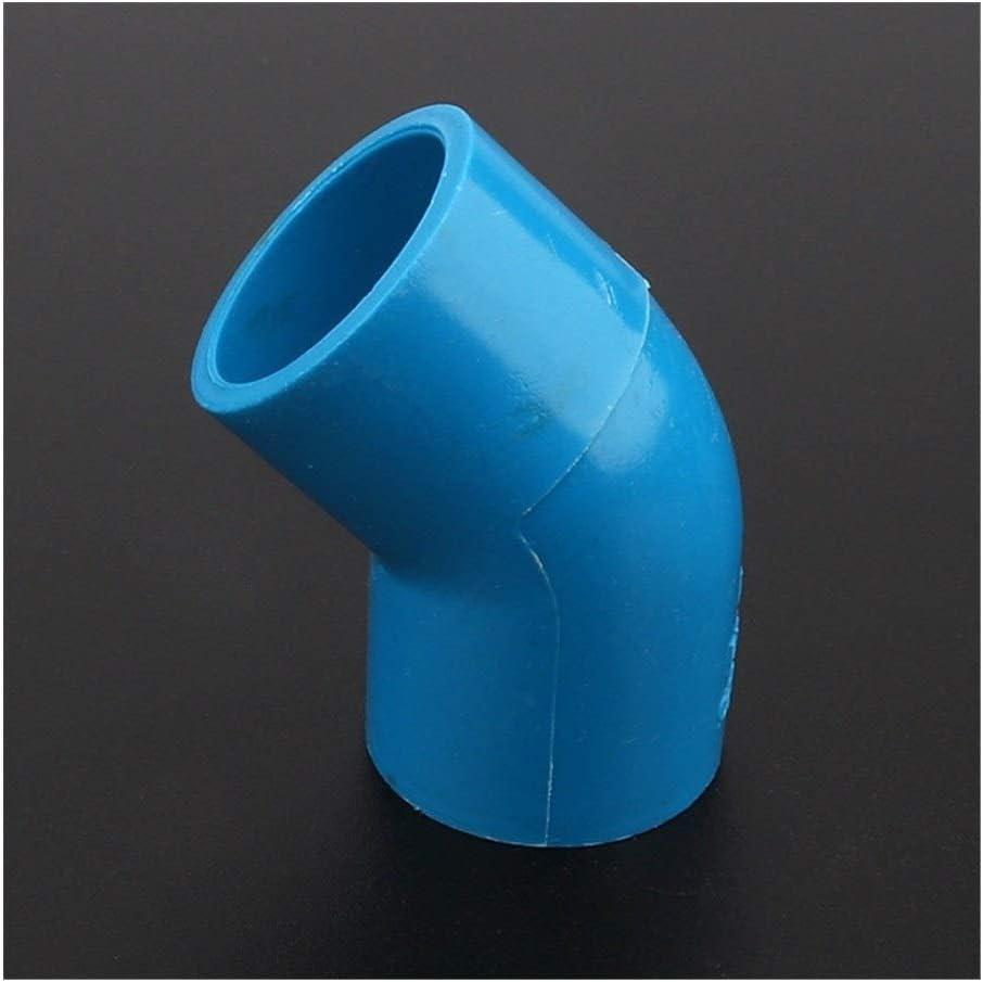 12//24//48pcs//lot 25mm PVC Pipe Connector Elbow Joint 45 Degrees Water Parts Aquarium Tank Adapter Garden Water Connectors Color : Blue 45 Degree Elbow, Diameter : 48pcs
