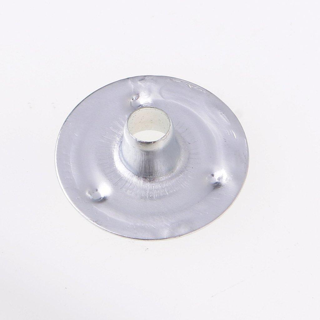 12.5x2.5mm MagiDeal Lot De 200 Pcs Support De M/èche /à Bougie Pour Fabrication De Bougie Artisant DIY