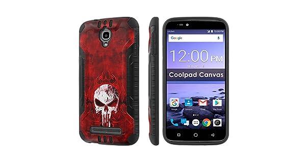 Amazon.com: [nakedshield] teléfono celular para Coolpad lona ...