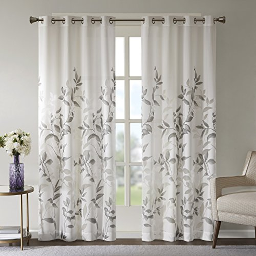 Sheer Curtains for Bedroom, Modern Contemporary