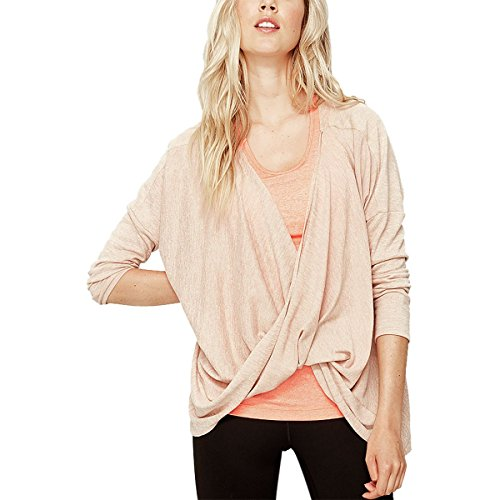 Lole Mel Top - Loleng-Sleeve - Women's Pink Sand Heather, XS