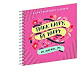 img - for Think Happy, Be Happy Engagement Calendar 2018 book / textbook / text book
