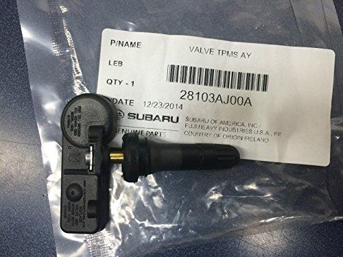 Subaru Genuine TPMS Tire Pressure Sensor 28103AJ00A Legacy Outback Forester Impreza WRX STI CROSSTREK